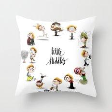 It's Hiddles O'Clock Throw Pillow