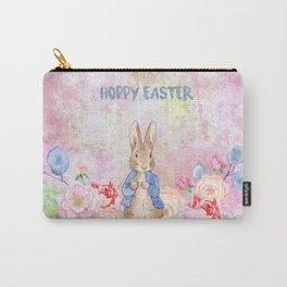 Hoppy The Bunny 3-Hoppy Easter Carry-All Pouch