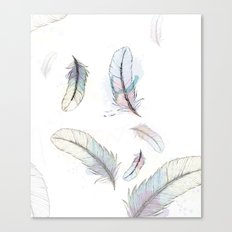 Plumes Canvas Print