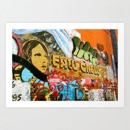 Art Alley / Rapid City Art Print