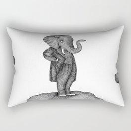 King of the world Rectangular Pillow