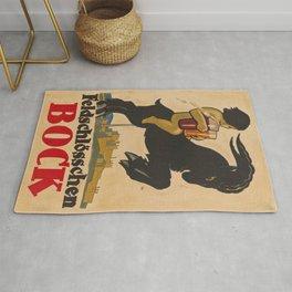 Vintage poster - Feldschlosschen Bock Rug