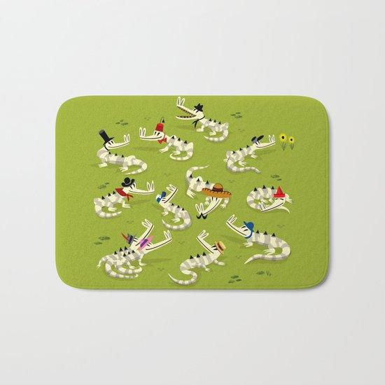 Crocodile Couture Bath Mat