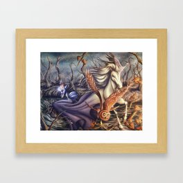 My Last Breath Framed Art Print