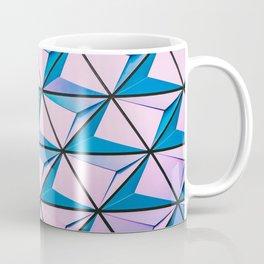 Pattern blue purple Coffee Mug