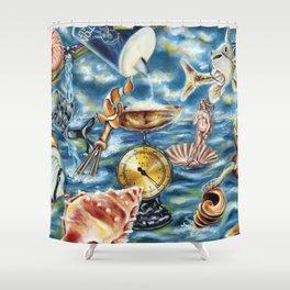 Recipe of Ocean Shower Curtain