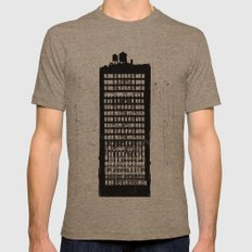 city study Mens Fitted Tee Tri-Coffee SMALL