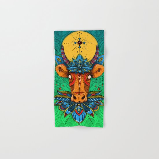 Holy Cow! Lotus. Hand & Bath Towel