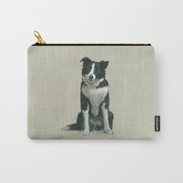 border collie herding dog Carry-All Pouch