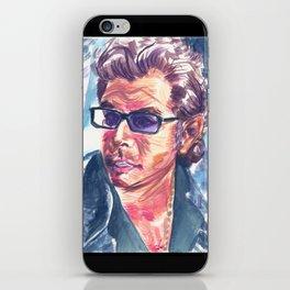 "Jurassic Park : Jeff Goldblum/Ian Malcom : ""Chaotician 4 / 4"" iPhone Skin"