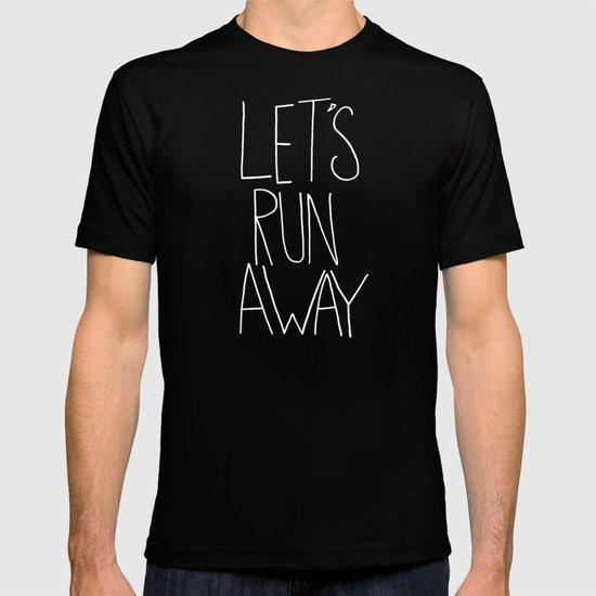 Let's Run Away: Detroit Lake, Oregon T-shirt