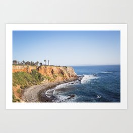 Point Vicente Lighthouse (color version) Art Print