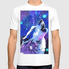 WOLF MOON AND SHOOTING STARS T-shirt