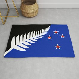 NZ flag (that nearly made it) 2016 Rug