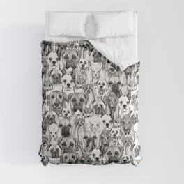 just dogs Comforters