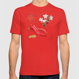 Chilli Peppers and Pollinators T-shirt