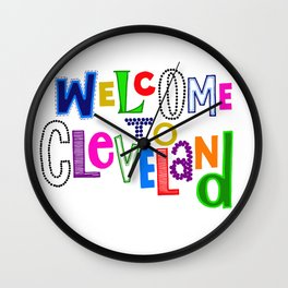 Welcome to Cleveland Wall Clock