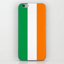 Flag of Ireland, High Quality Image iPhone Skin