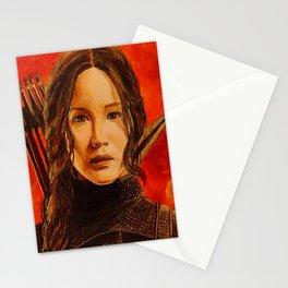 Katniss Everdeen Stationery Cards
