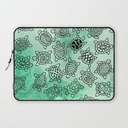 Turtle Patterns Laptop Sleeve