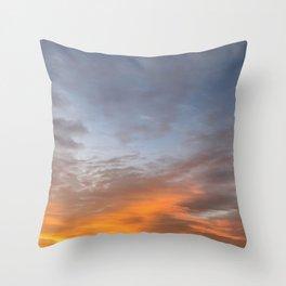 Beautiful Morning Sky Throw Pillow
