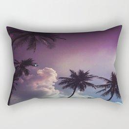 Palm night II Rectangular Pillow
