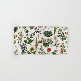 vintage botanical print Hand & Bath Towel