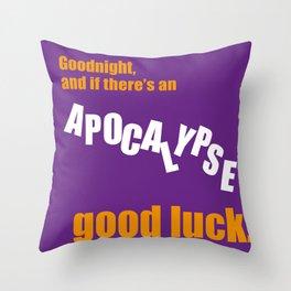 Apocalypse Big Bang Throw Pillow