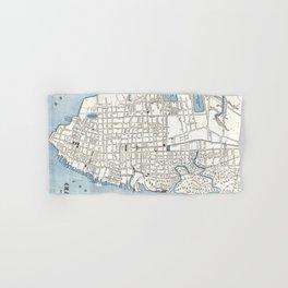 Vintage Map of Charleston South Carolina (1898) Hand & Bath Towel