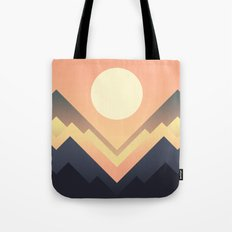 The Sun Rises Tote Bag