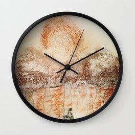 Keep Racing Forward Wall Clock