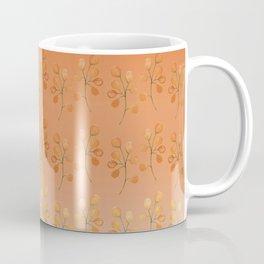 """Cactus flowers in soft orange"" Coffee Mug"