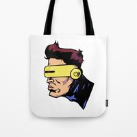 xmen Tote Bags featuring x3 by jason st paul