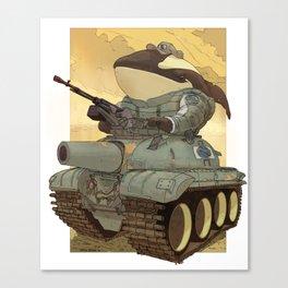 Orca Tank Canvas Print