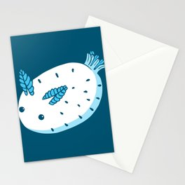 Sea Bunnies_Blue Stationery Cards