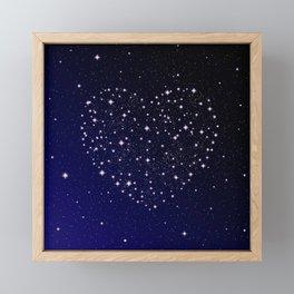 Love Story - Written in the Stars Framed Mini Art Print