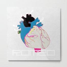 HEART OF THE ROMEO - POISON Metal Print