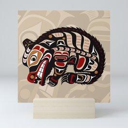 Bear, Salish Seasons Mini Art Print
