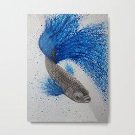 Blue Dance Metal Print