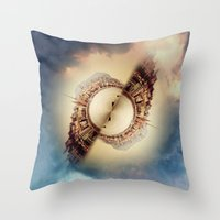 budapest Throw Pillows featuring Budapest by Petra Heitler