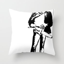look who's coming! Throw Pillow