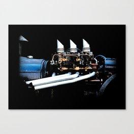 Rat Rod Motor Canvas Print