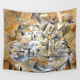 Georges Braque Pedestal Table Wall Tapestry
