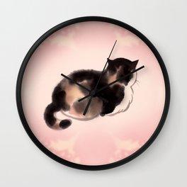 Queen Fa back Wall Clock