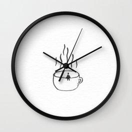 Big Coffee Wall Clock
