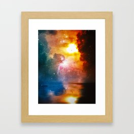 The Totality Of Existence Framed Art Print