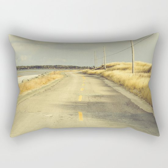 The Road to the Sea Rectangular Pillow