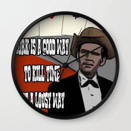 Poker Brothers - Bartholomew Wall Clock