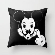 Mask Anonymouse Throw Pillow