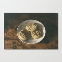 cookies Canvas Prints featuring cookies by Aishah Majri